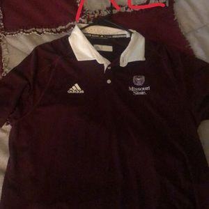 Missouri state university collard shirts